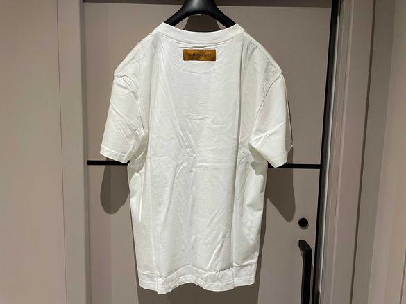 LV Louis Vuitton Patch Monogram Logo мъжка тениска размер XL