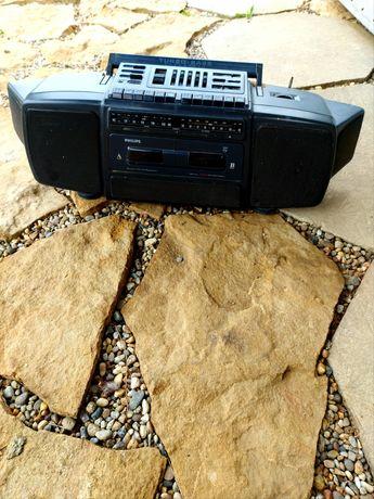 radio Philips negru