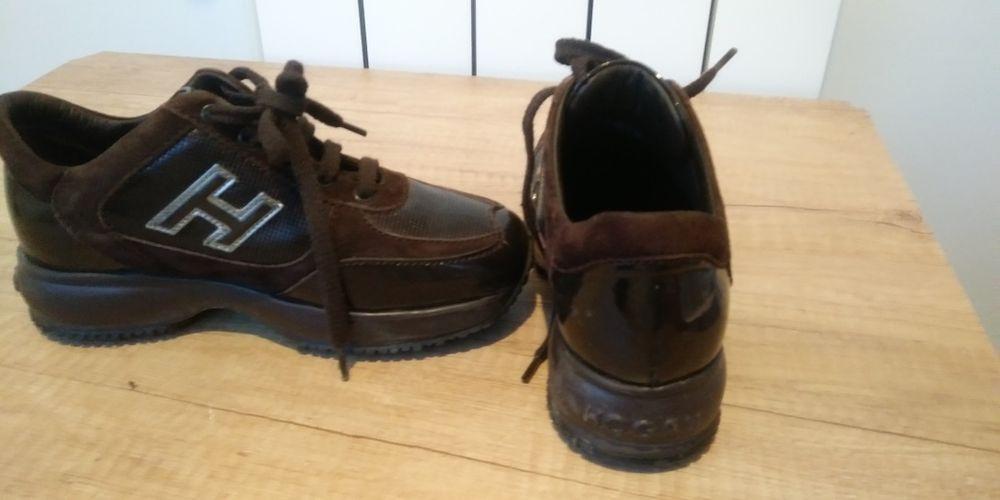 Pantofi Hogan maro Roscani - imagine 1