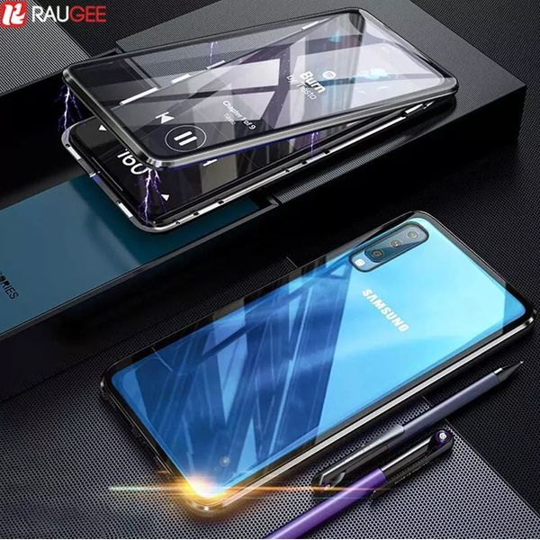 Двоен Магнитен Кейс за Samsung Galaxy A50 A70 A30s A10 A40 360 Градуса гр. Варна - image 1