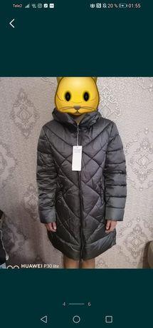Распродажа Шикарная куртка зимняя, мех съёмный 5размер