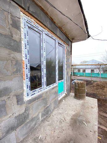 Скидка Пластиковые окна в Алматы Двери Балконы Витражей Перегородки