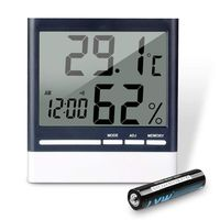 Гигрометр & термометр для дома. Бесплатная доставка по КЗ