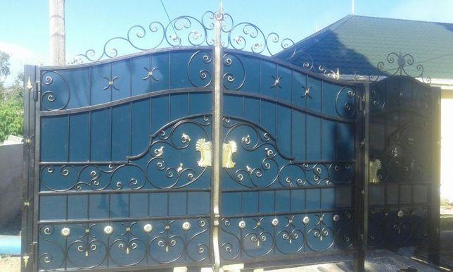 Двери, ворота, решетки, оградки, перила, беседки, павильоны, лестницы.
