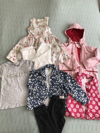 Одежда на девочку 4-6 лет