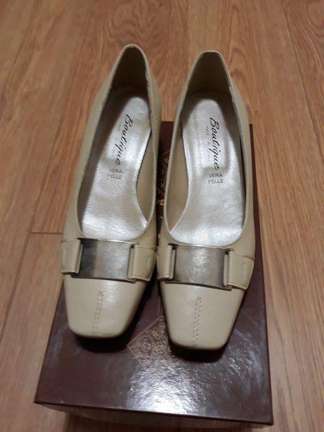 Vand pantofii dama din piele