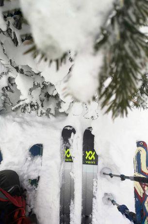 Лыжи для фрирайда и скитура Volkl Katana V-Werks с Marker Kingpin 13
