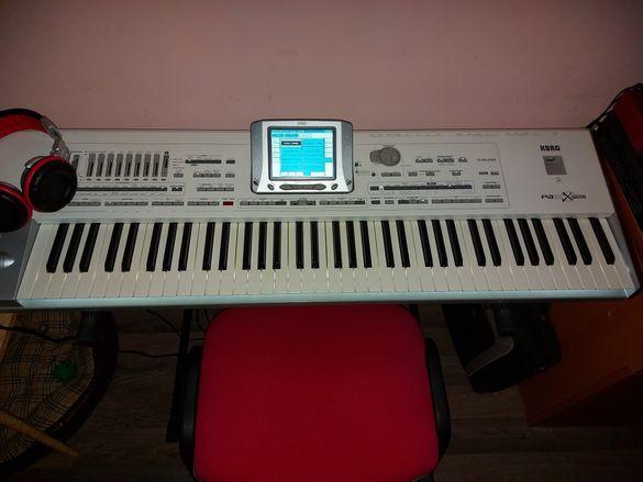 Бартер - KORG Pa2X PRO с Pa4x нова клавиатура , бяло LED-осветление .
