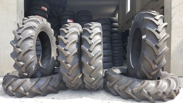 Cauciucuri de tractor 12.4-28 noi cu 8 pliuri garantie 2 ani