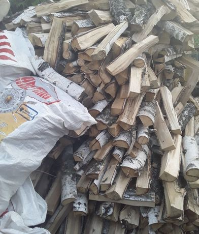 дрова сухие берёза