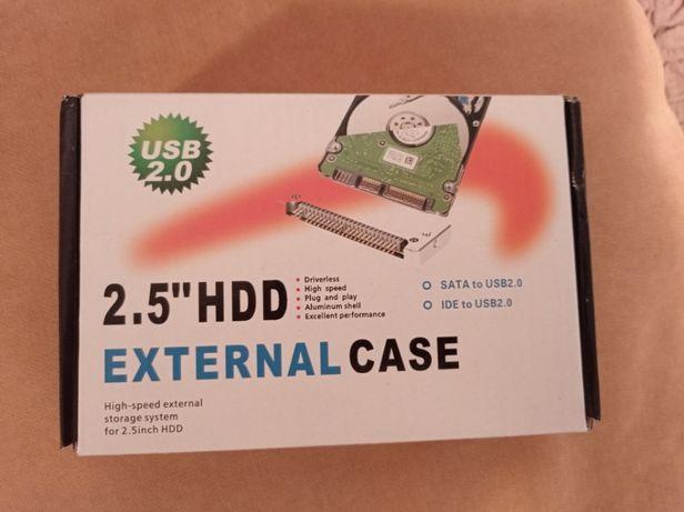 """Rack extern, IDE, pentru HDD de 2,5"""" pe USB 2.0"""