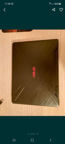 Игровой ноутбук Asus TUF Gaming FX505DY