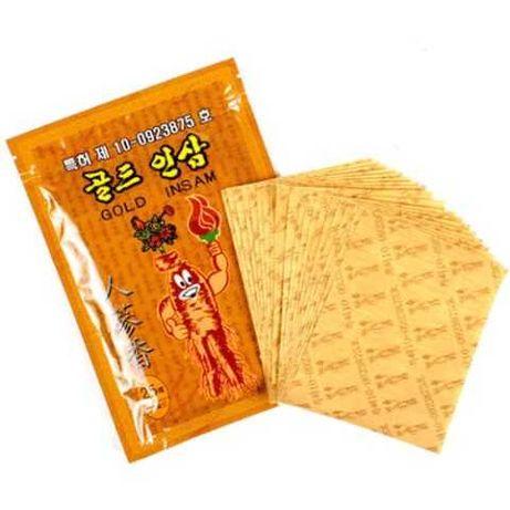 Корейские обезболивающие пластыри