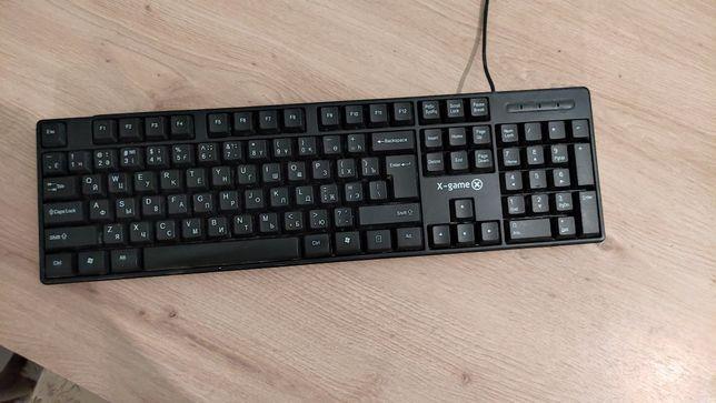 Игровая клавиатура X.Game покупал около месяца назад как новый!!