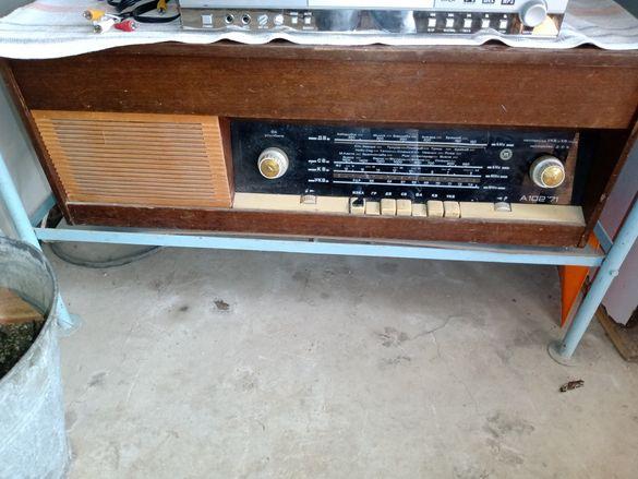 Ретро Радио-грамофон А102' 71