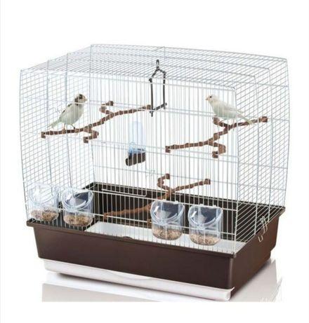IMAC Colivie pentru păsări IRENE 4 Maro - 59x38x56cm