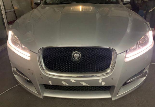 Portiera stanga dreapta fata spate argintie Jaguar XF 2012 FAcelift