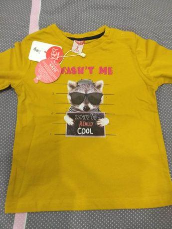 Блузка за момче 9-12 месеца