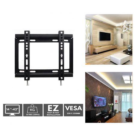 Метална стойка за телевизор за стена до 42 инча