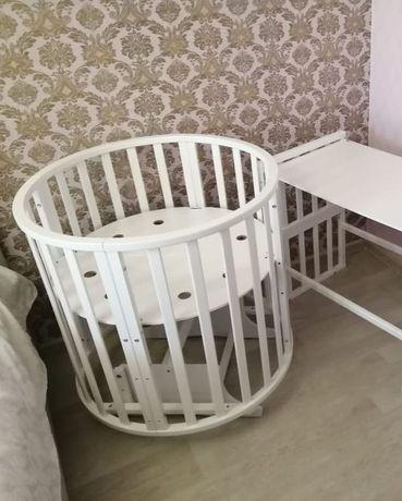 Круглая кровать 8в1