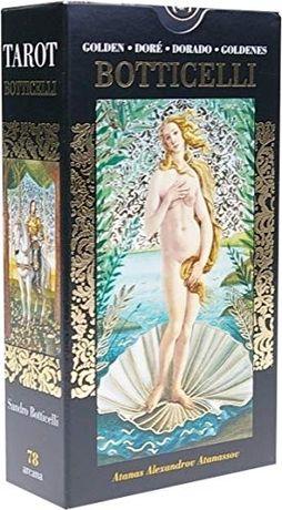Tarotul de Aur al lui Botticelli-Carti Tarot ed lim lux(aurii complet)