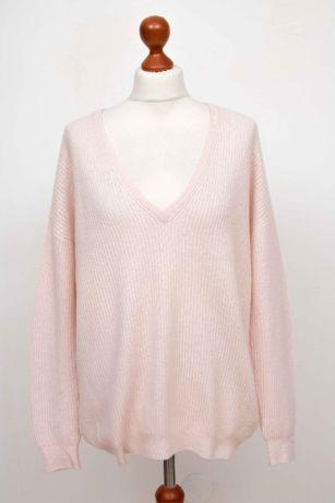 THE MERCER N.Y Страхотен дамски бейби розов пуловер размер 36 / S
