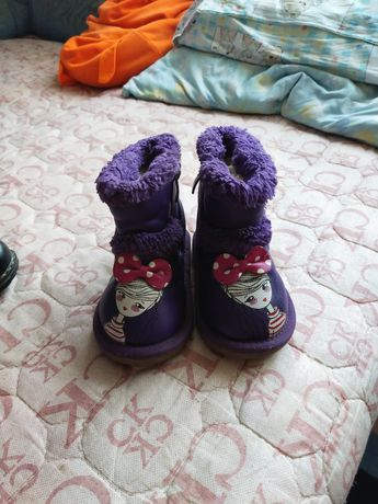 Зимние угги детские