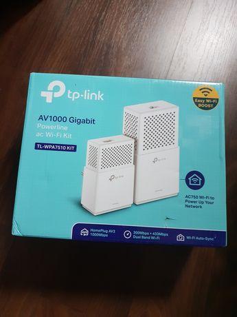 TP-Link TL-WPA7510 AV1000 Gigabit Powerline AC750 Wi-Fi Kit