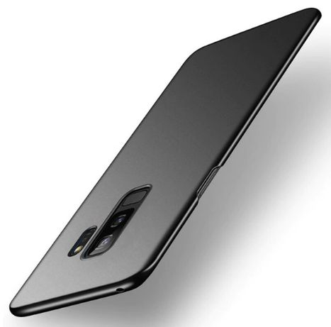 Husa Ultra Slim Samsung S9 Plus Luxury Elegance, Negru