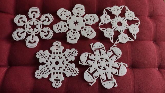 Globuri pentru bradul de Craciun Star Wars -set 5 bucati