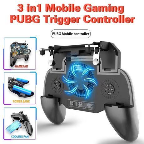 3в1 Джойстик за телефон Gamepad Controller За Android и Iphone