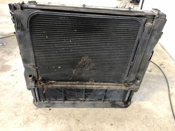 Радиатори БМВ Х5, Е53 (radiatori BMW X5, E53)