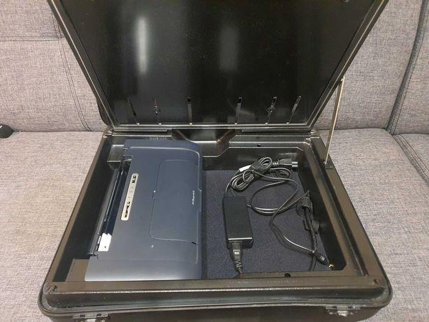 Imprimanta portabila color HP H470 cu geamantan mobiz