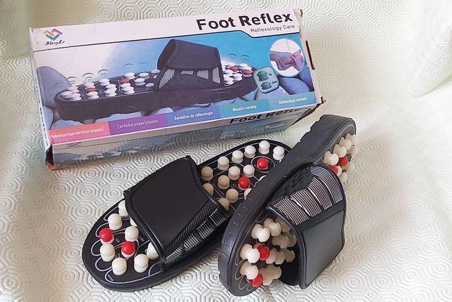 FOOT REFLEX Papuci pentru masaj.