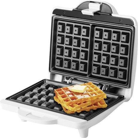 Гофретник ECG S 1370 Waffle, 700W, Бял - Код G5074