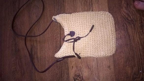 Нова плетена чантичка