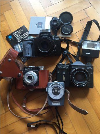 Продавам чисто нов лентов фотоапарат MINOLTA DYNAX 5000I +фотографски