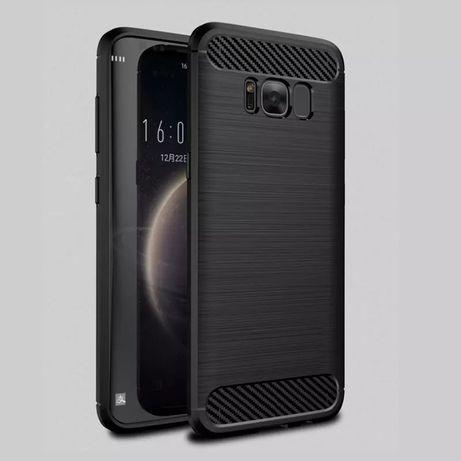 Карбон Кейс Rugged Armor за Samsung Galaxy S8 S9 S9+ NOTE 8 9 А20e A10