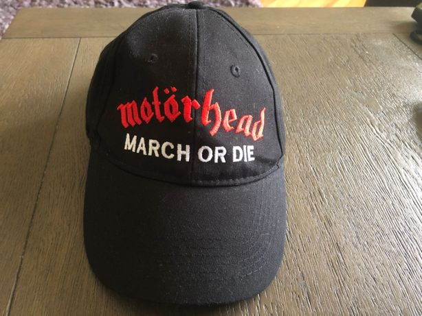 Sapca originala,Motorhead-March or die,logo brodat