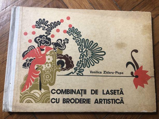 Combinații lasetă cu broderie artistică
