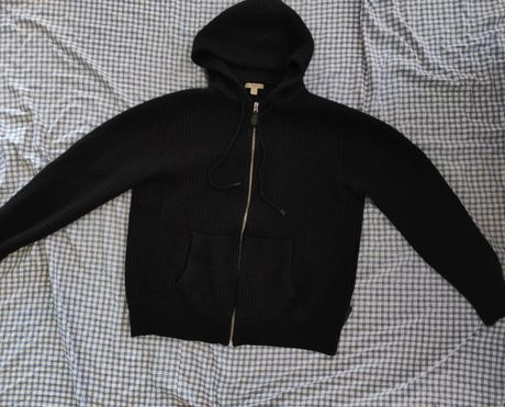 Jacheta Burberry lână și cașmir ,tricotata originala