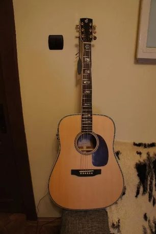 Chitara electro-acustica Dreadnought Harley Benton Custom