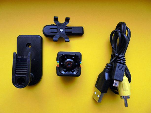 Mini camera spion motion sensor, night vision