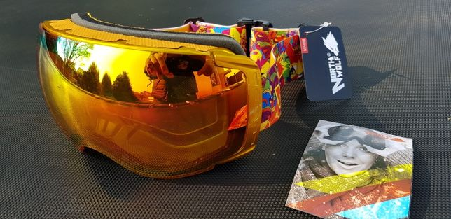 Ochelari de ski snowbord enduro moto atv North Wolf Pompeii