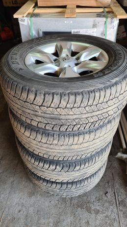Диски с оригинальной резиной от Toyota Prado 150