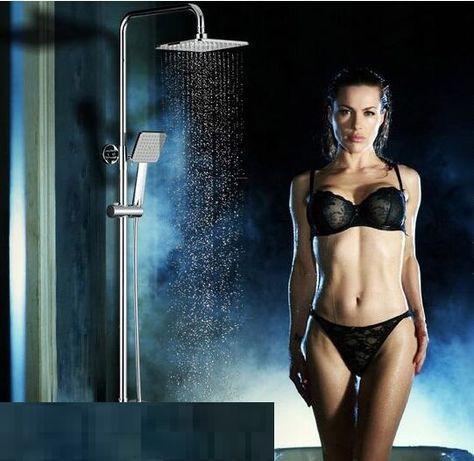 Намалена от38лв-Дизайнерска Тънка Душ пита за баня Slim, душ слушалка