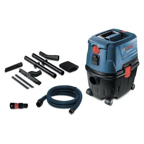 Прахосмукачка Bosch GAS 15 PS Professional,1100 W, 10л за сухо и мокро