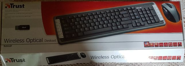 Kit TRUST DS-3400D optical wireless