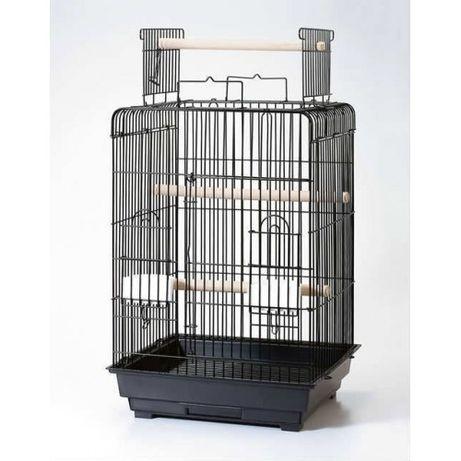 Клетка за птици средна 47х47х60 (80) см