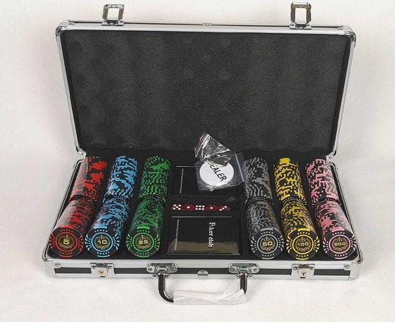 Набор для покера LUX 300 фишек